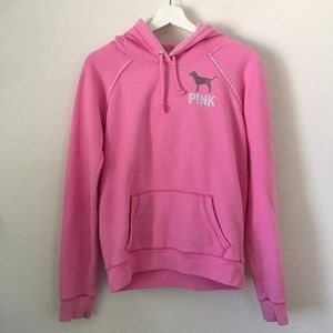 Victoria's Secret PINK Back Detail Hoodie Sz M
